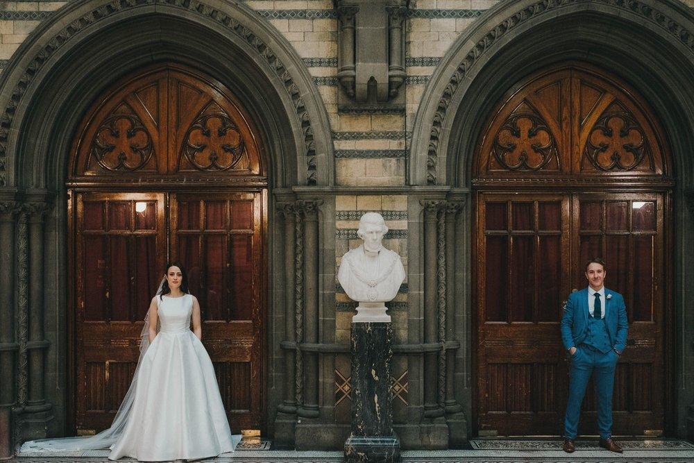 Suzanne & Matthew // Manchester Town Hall
