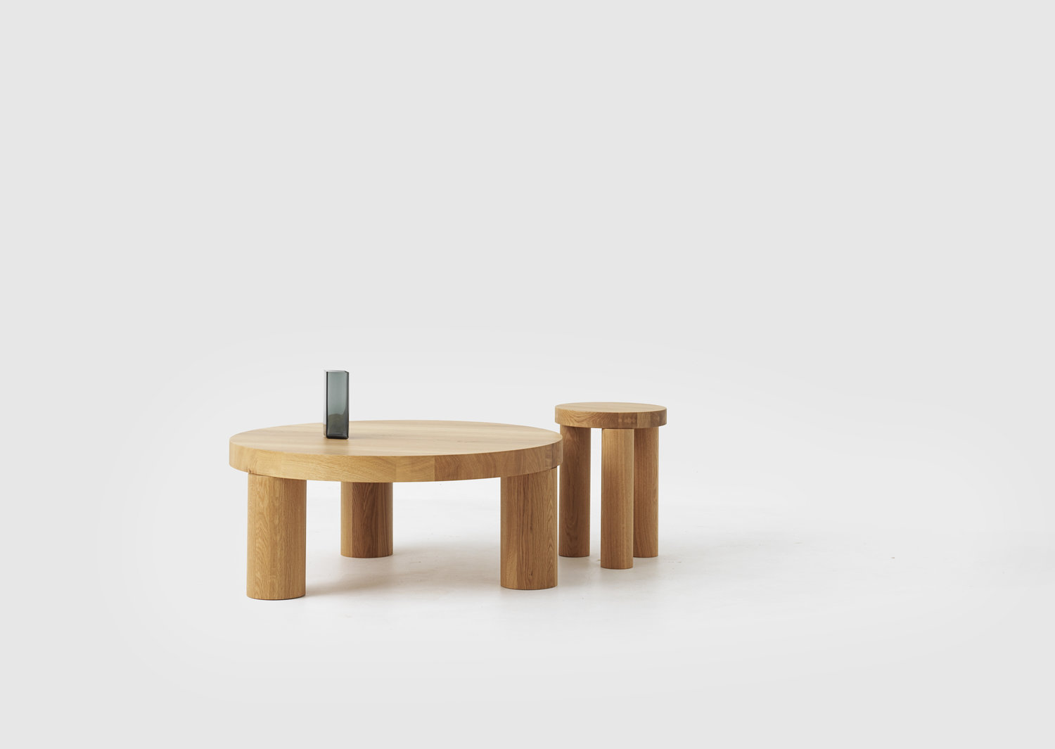 Offset stool and coffee table for resident philippe malouin prev next geotapseo Gallery