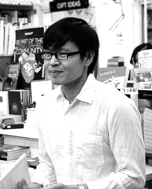 Tse Hao Guang   is interested in form and formation, creativity and quotation, lyrics and line breaks. His chapbook is  hyperlinkage  (Math Paper Press, 2013), and his first full-length collection is  Deeds of Light  (Ten Year Series, 2015), for which he has been shortlisted for the 2016 Singapore Literature Prize in English Poetry. He graduated from the Masters of Arts Program in the Humanities at the University of Chicago in 2014, and co-edits the literary journal  OF ZOOS , and the anthology  UnFree Verse , forthcoming from Ethos Books.