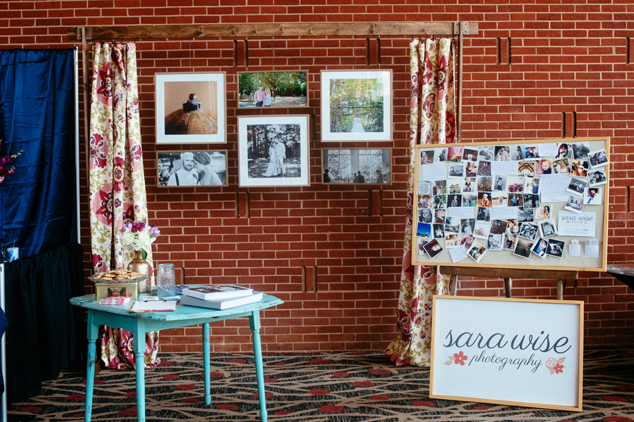 Sara Wise Photography | AWP Bridal Show Booth | Athens GA | Wedding Photographer