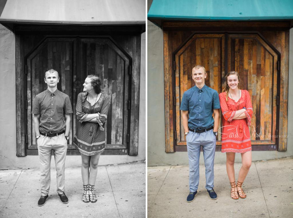 downtown athens family photos