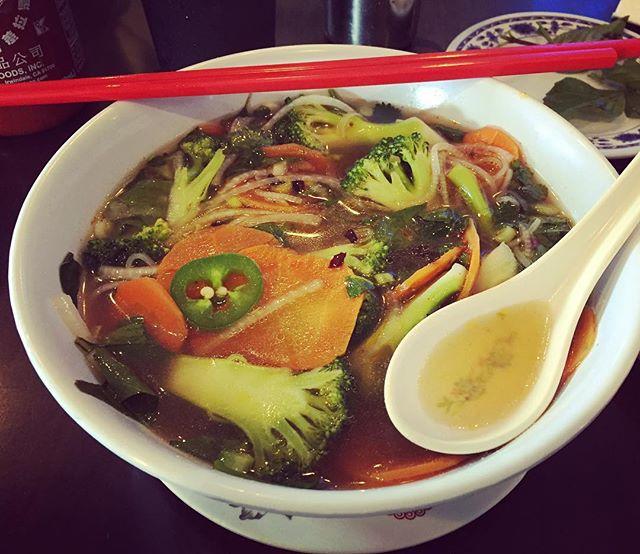 pho vegetable. 🍜🍜🍜