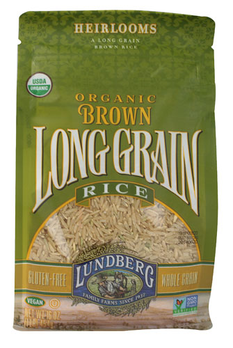 Lundberg Organic Long Grain Brown Rice, 32-Ounce