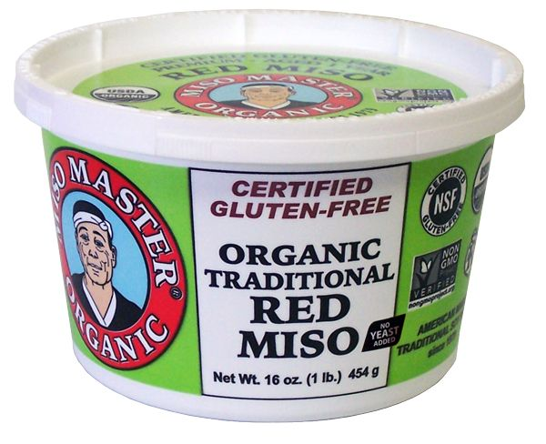 Organic Traditional Red Miso by Miso Master