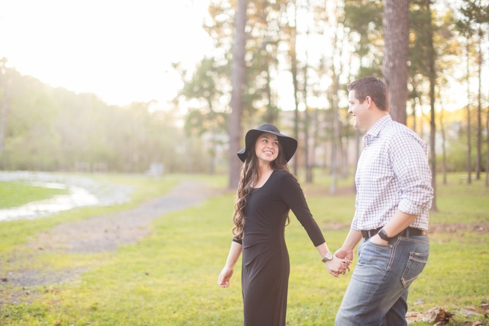 bethany & ben engagement | mississippi engagement | spring engagement