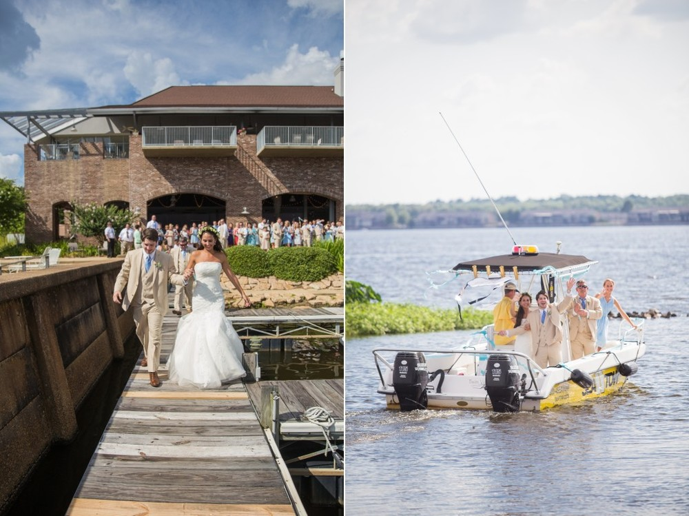 mr. & mrs. coleman | mississippi summer wedding | provine chapel | jackson yacht club