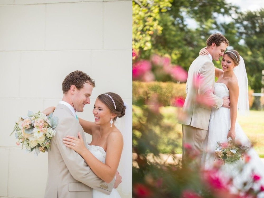 mr. & mrs. moore | jackson, mississippi wedding | summer wedding