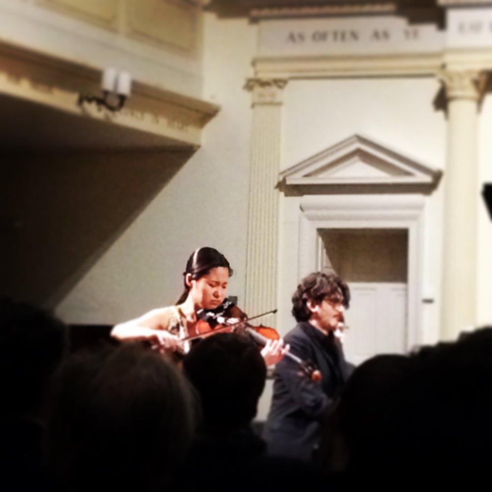 A violin night of 2015