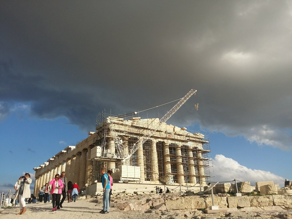 The great Parthenon!