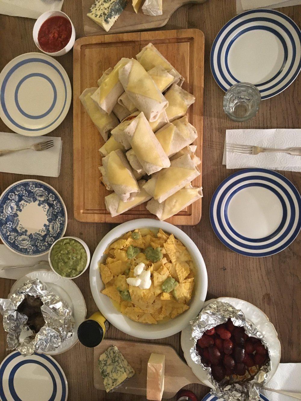 Μεξικάνικη βραδιά