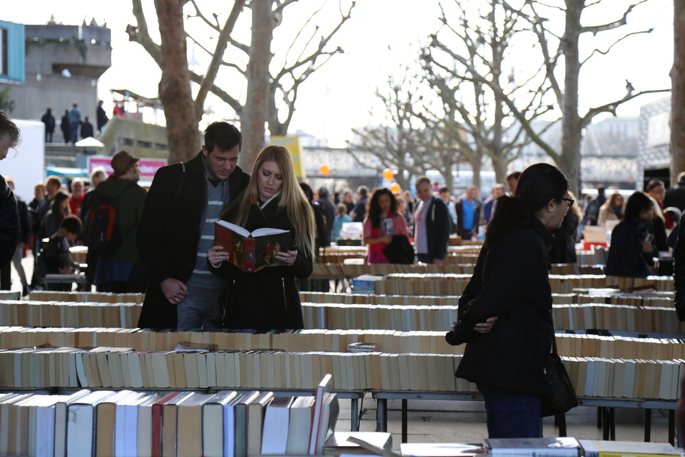 Waterloo Book Market ( by Thames)