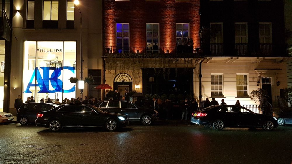 Mortons at Mayfair./ Hellenic Nights in London