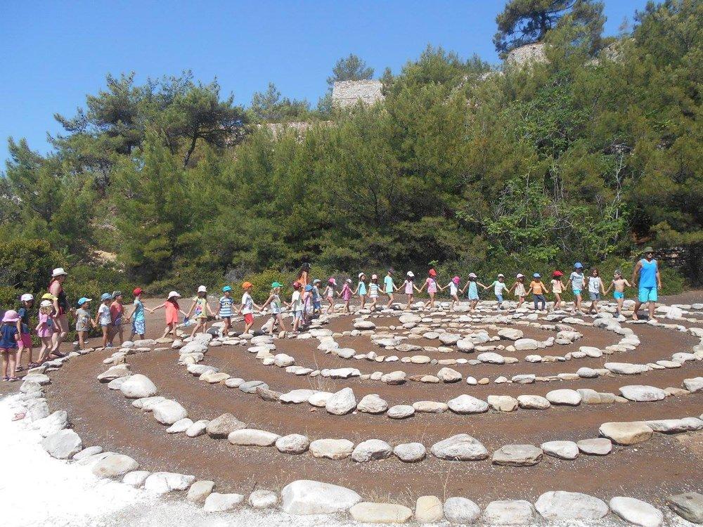 Labirynth of mind, Thassos island