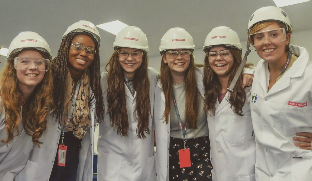 Click here to see our story on life as a young woman in engineering