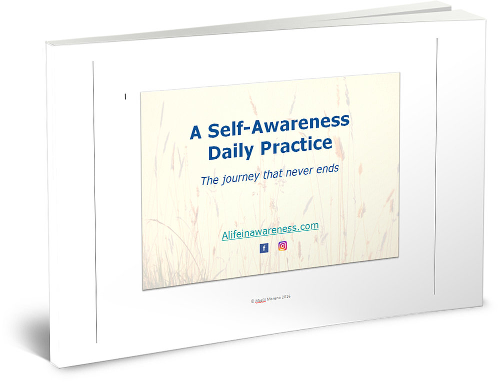 A Self-Awareness Daily Practice - A practical (and personal) take on what a daily practice of mindfulness and self-awareness looks like. It includes tips, a poem and several suggestions for making the different parts of the day moments for checking in with yourself.
