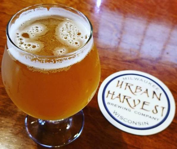 Cork Screw IPA by Urban Harvest Brewing Company