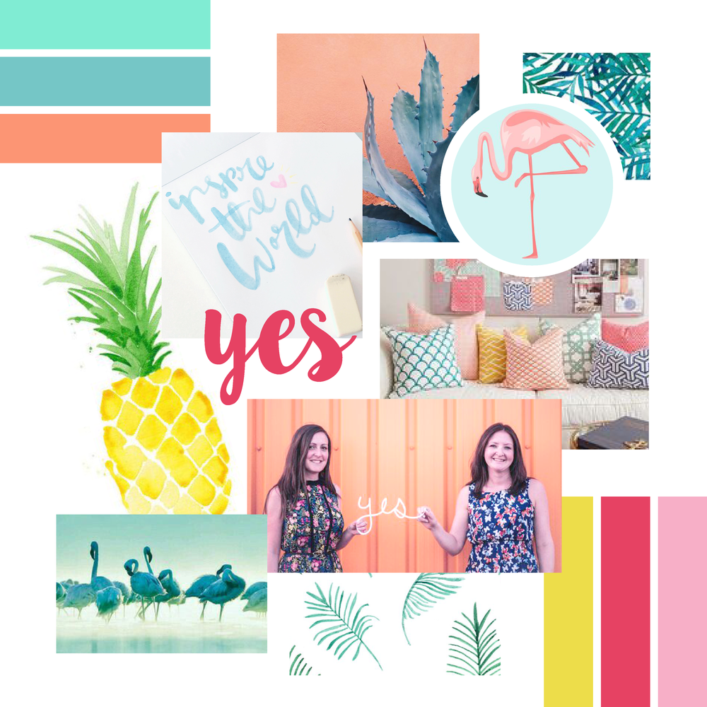 branding, brand styling, how to style a brand, moodboard