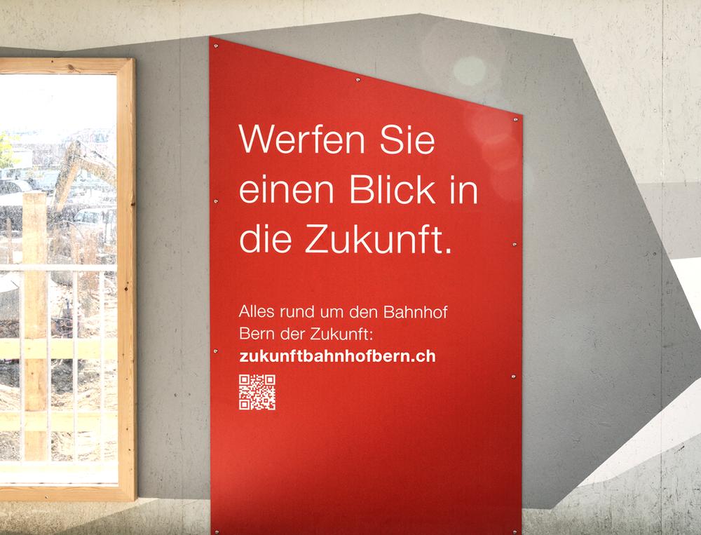 AMBIENT MEDIA  SBB – Zukunft Bahnhof Bern