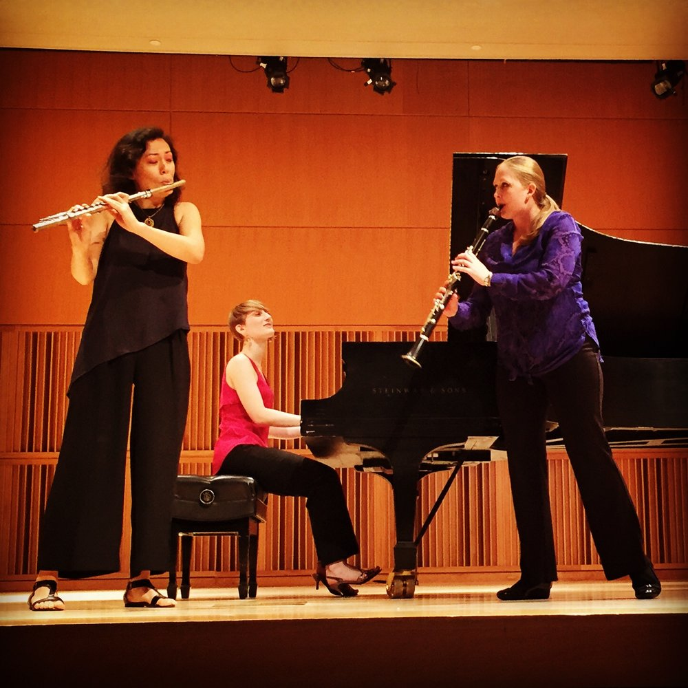 Parhelion Trio_Andrea Christie piano; Sarah Carrier flute; Ashlee Miller, clarinet.JPG