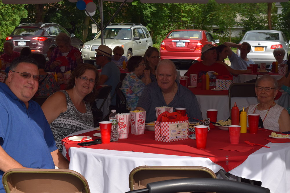 Summer-Fest 2017 Beverly Curtis and James Ehlinger along with Family and Friends.JPG