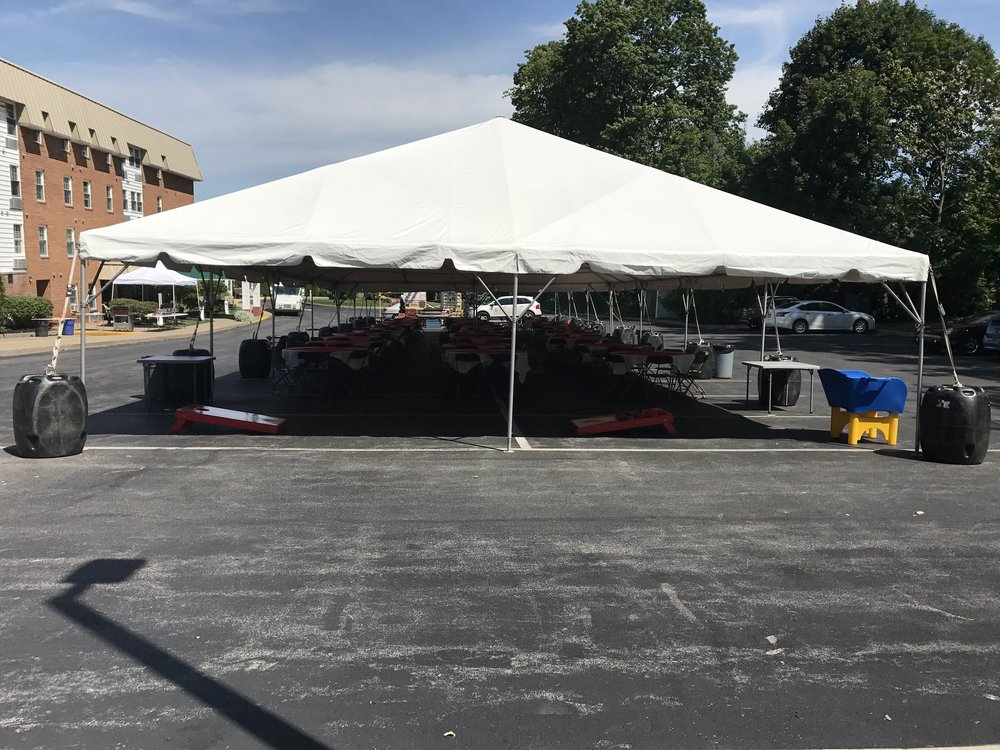 Summer-Fest 2017 The Tent Before the Event Starts.JPG