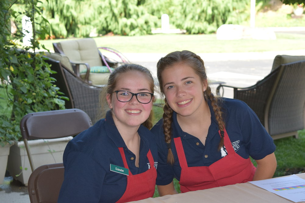 Summer-Fest 2017 Wait Staff Lizzie and Katie.JPG