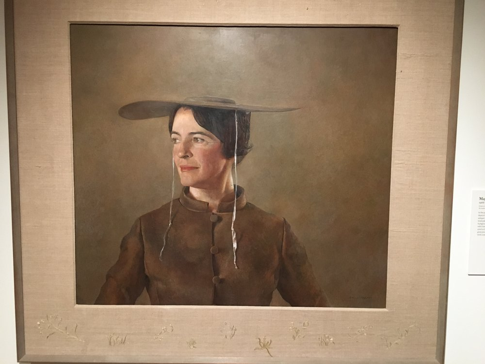 Andrew Wyeth's wife, Betsy