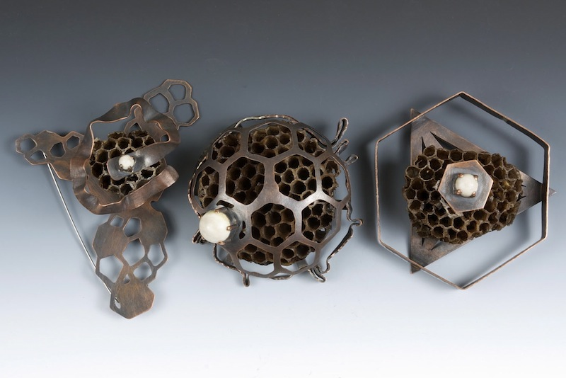 Wasp Nest Brooches 2.jpg