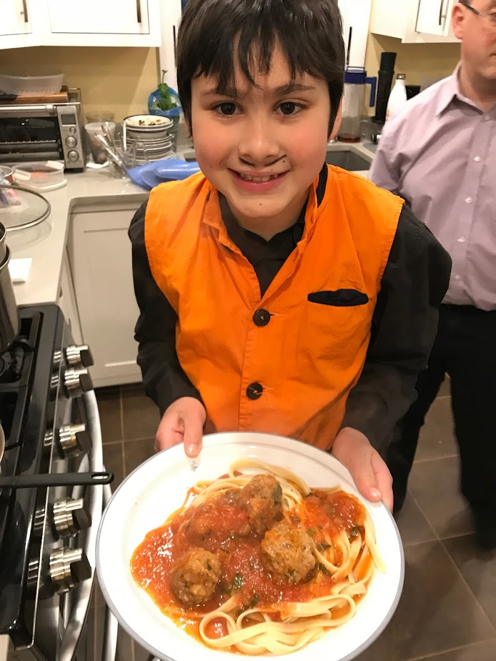 Be like Max and host a Power Up! Dinner. Our youngest chef raised over $200 to help people stay warm in their homes this winter.