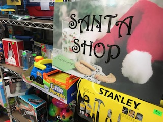Christmas Blessing Santa Shop opens on December 1 for Families Needing help with Christmas Gifts for Children and Youth