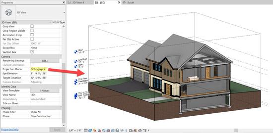 Modéliser un bâtiment - Modéliser la maquette 3D d'un bâtiment à partir d'un plan AutoCAD.
