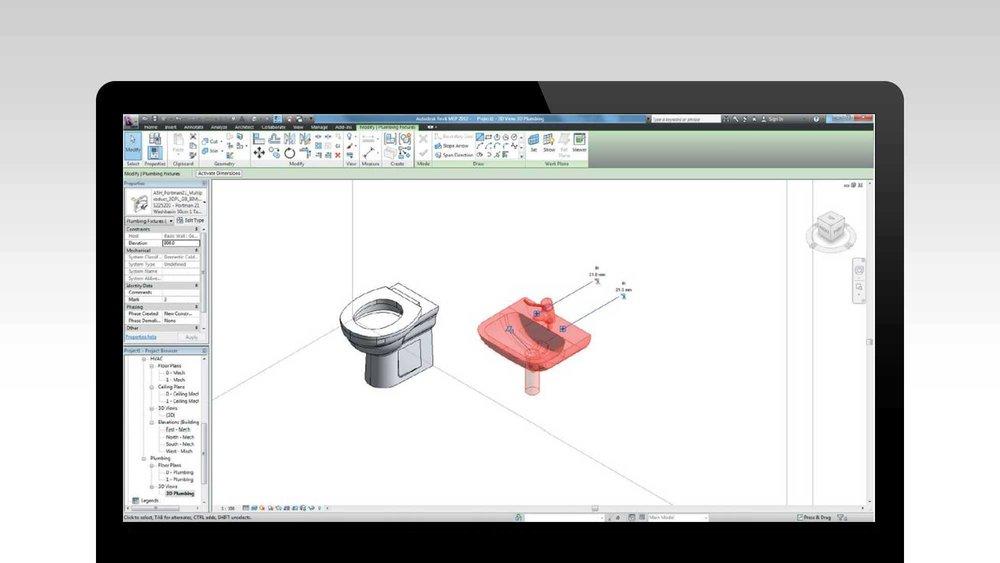 Les objets BIM - Importer dans votre maquette des objets BIM en 3D depuis internet : fenêtres, portes, climatiseurs, mobilier, etc…