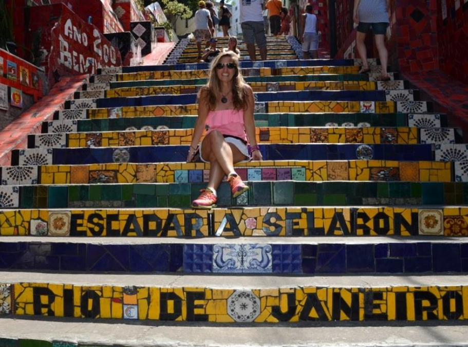 Escadaria Selaron;Rio De Janeiro