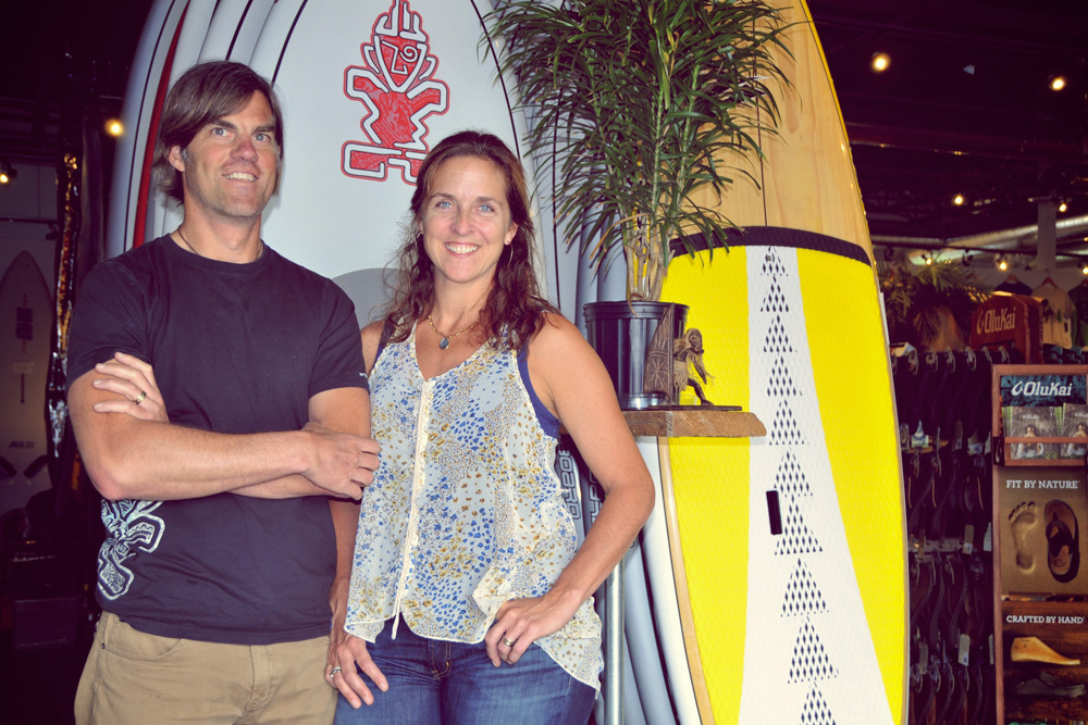 Russ & Roxanne Scully Bring Surfing to Burlington, VT