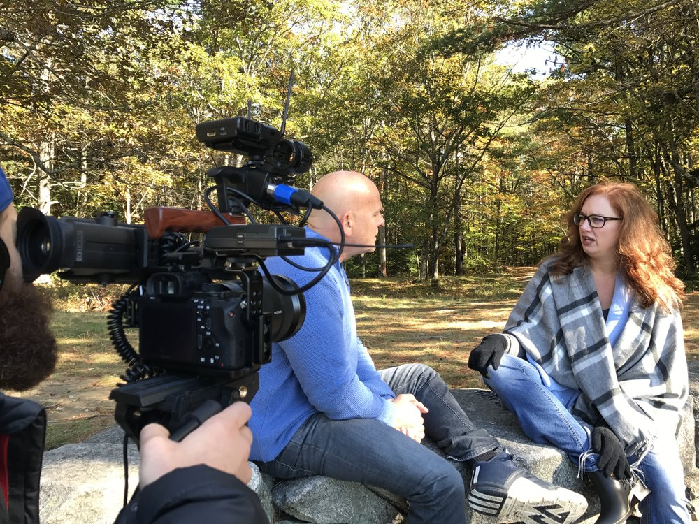 New London, NH interviewing Dr. Dorthoy Hitchmoth Oct 2017.JPG