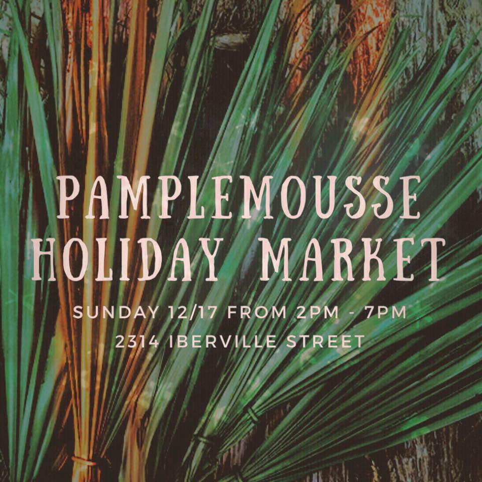 Gifts with Life! - Come lounge, sip and shop the products of local creatives at this historic Mid-City warehouse! We will be selling staghorn ferns, kokedama, moss walls, tillandsia wreaths and much more!  ______________Opening Spring 2018 🌿 Pamplemousse is a historic warehouse & lawn for a variety of occasions; from large receptions to quiet retreats.