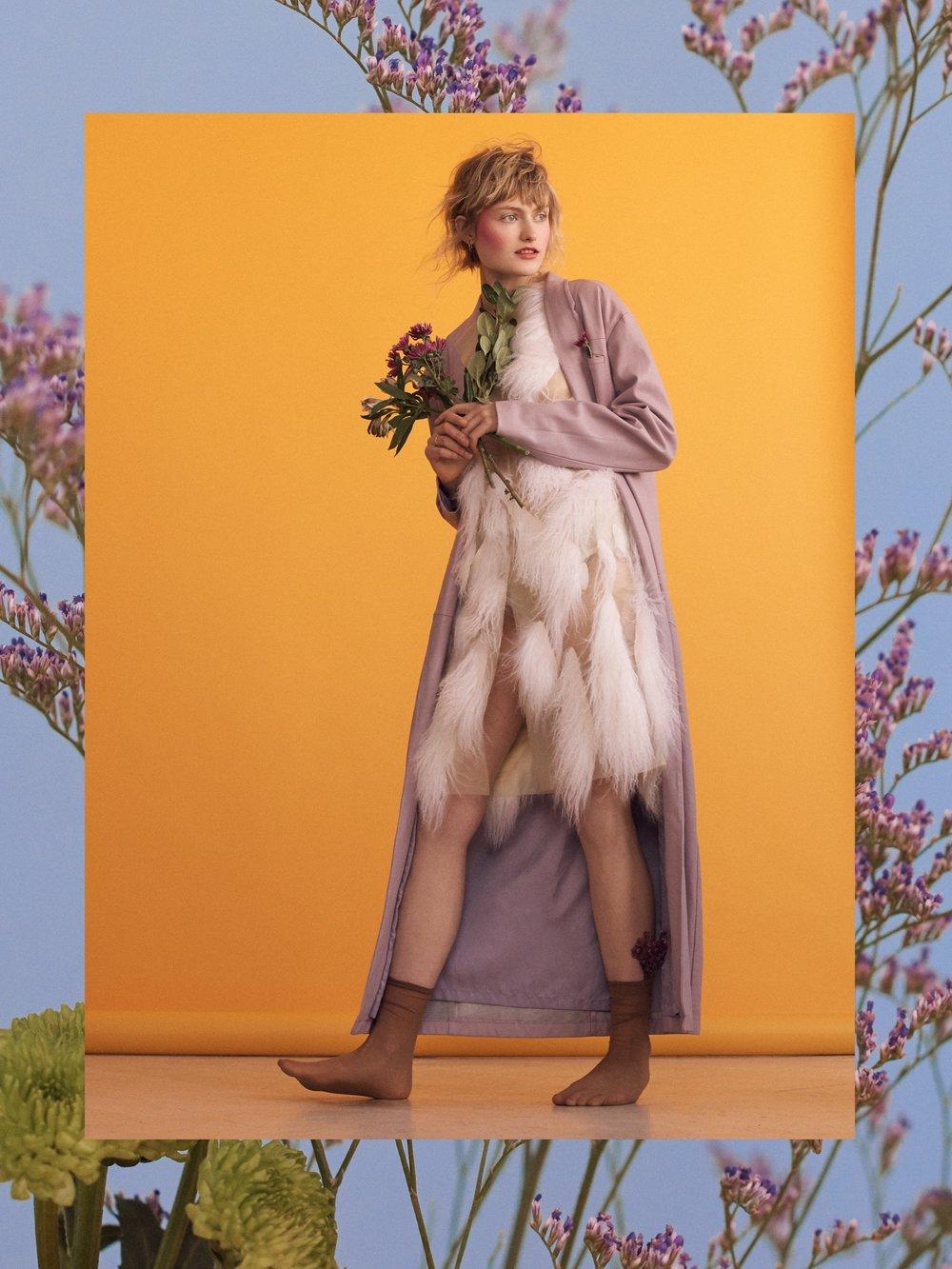 Ladygunn Magazine  photographer. Mary Fix  model. Emma SIilverton @Elite Models  makeup. Ayaka Nihei  hair. Serina Takei
