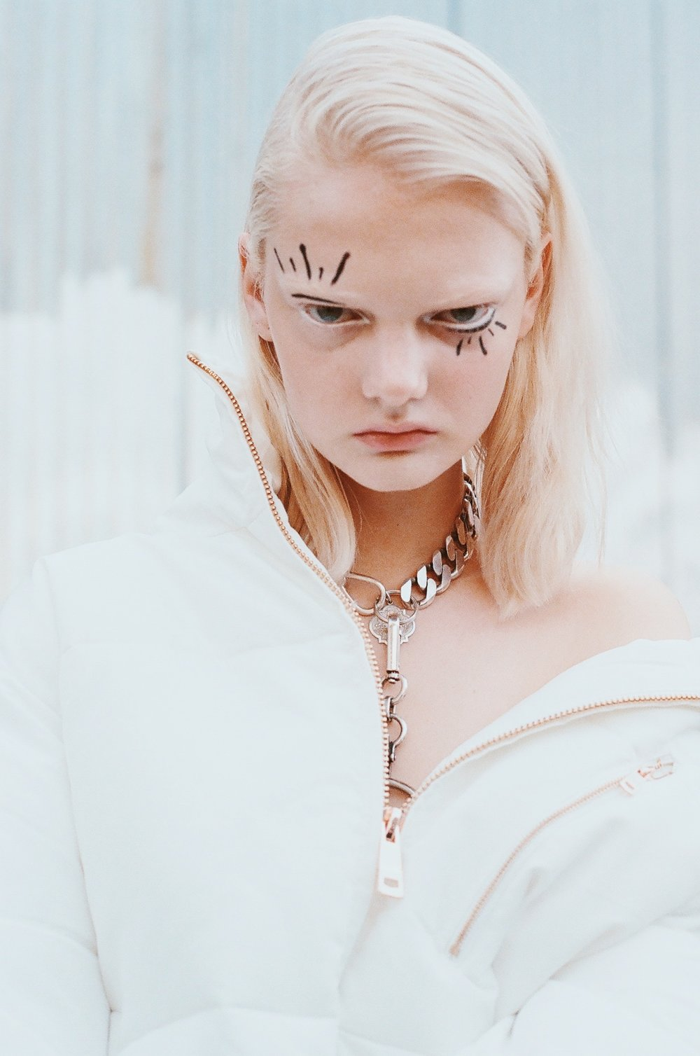 photographer. Hannah Sider  model. Unia New York Models  makeup. Alana Wright