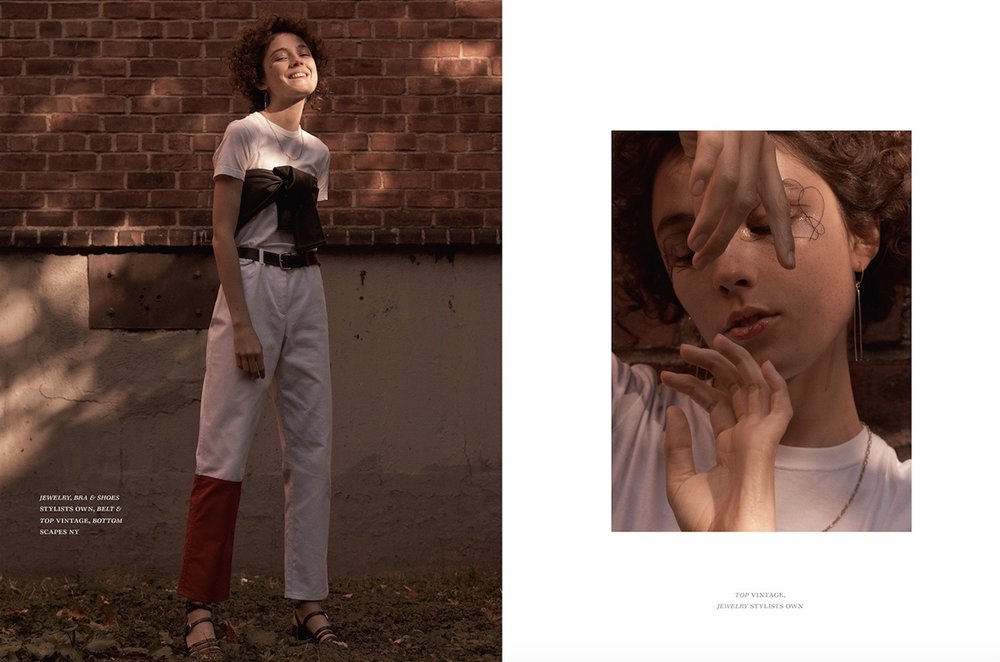 One Magazine  photographer. Mary Fix  model. Lary Muller  makeup. Ayaka Nihei  hair. Kabuto Okuzawa