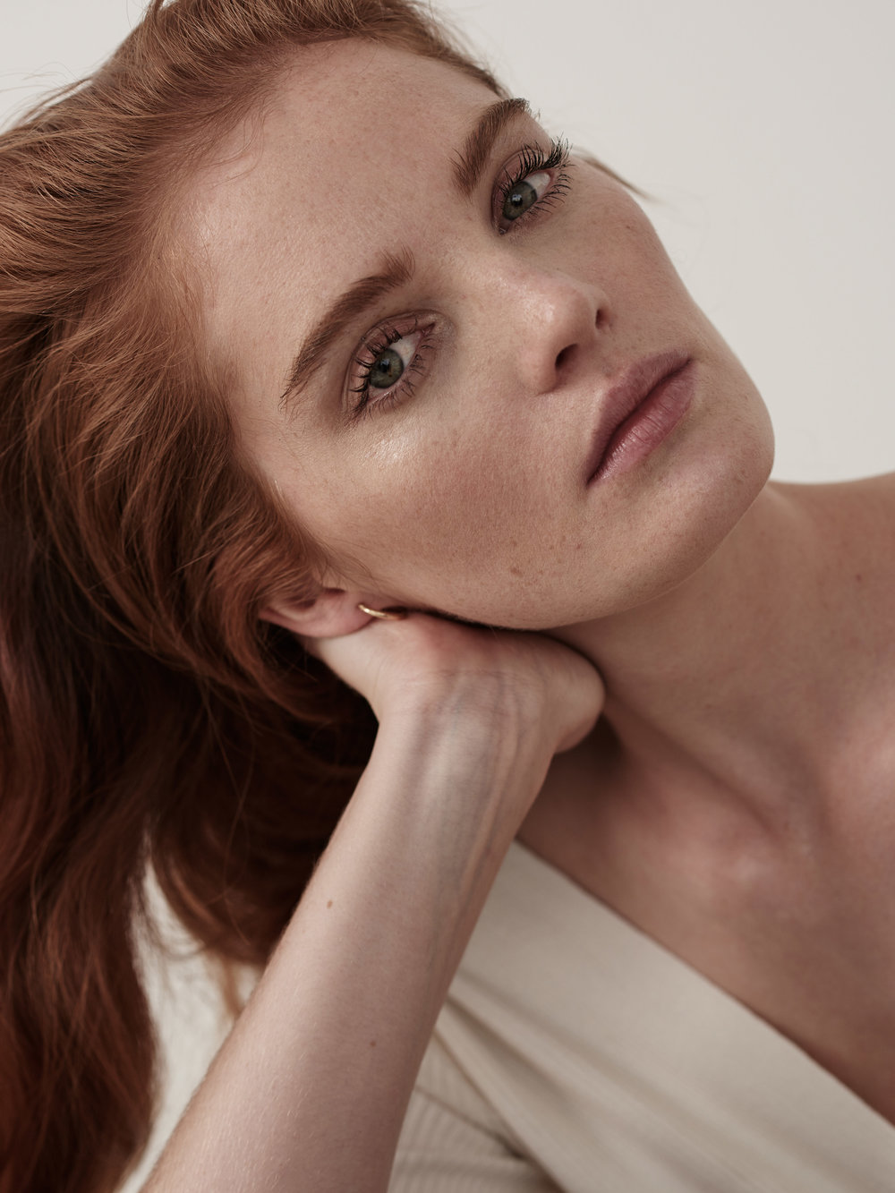 photographer. Mary Fix  model. Alexina Graham @ Women NY  hair. Serina Takei  makeup. Tony Tulve