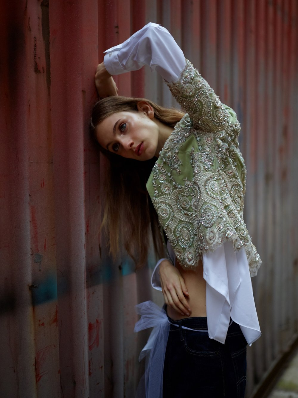 photographer. grayson and jamie hoffman  model. sarah berger @ women ny  makeup. david razzano  hair. wade lee