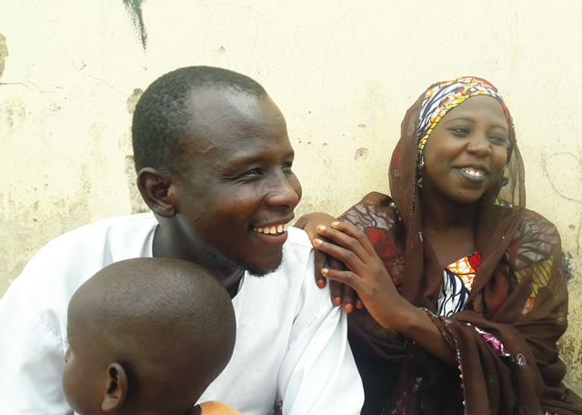Faisal Musa and wife, Fatima