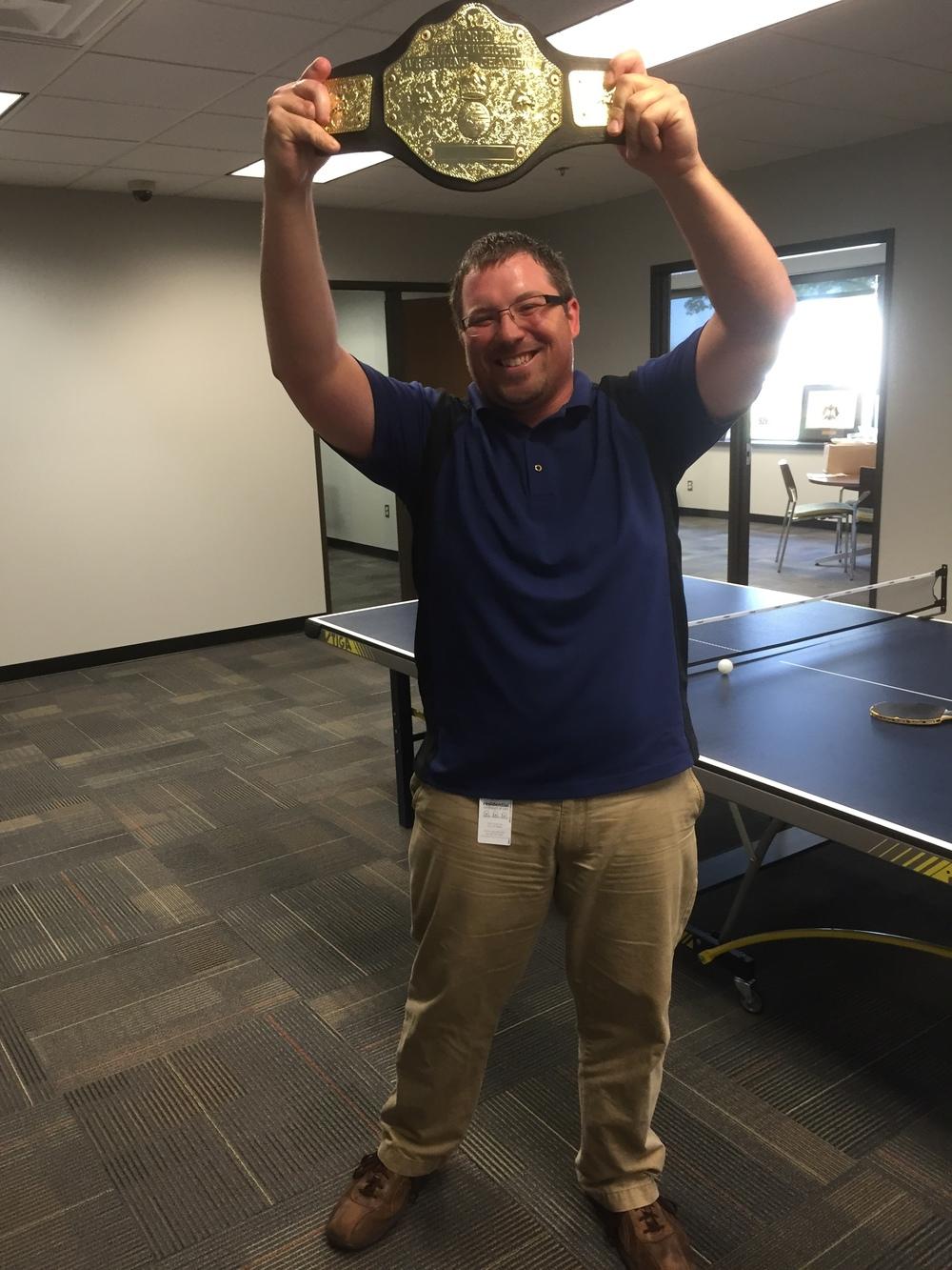 Ping Pong Champ, Adam!