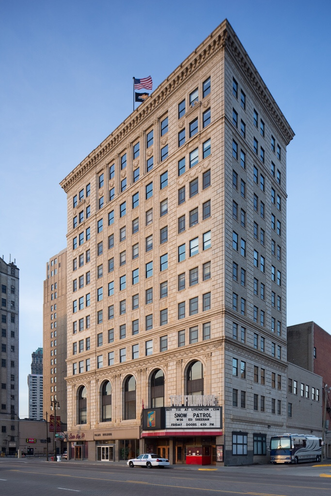 Healthy Living will be moving to the historic Palms Building at 2111 Woodward Avenue in Detroit, Michigan later this year.
