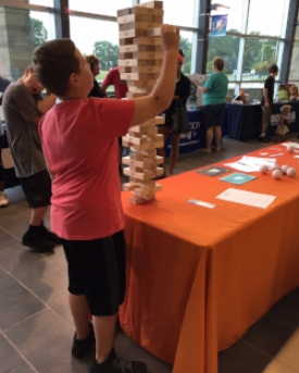 Are you ready for the Giant Jenga Challenge?
