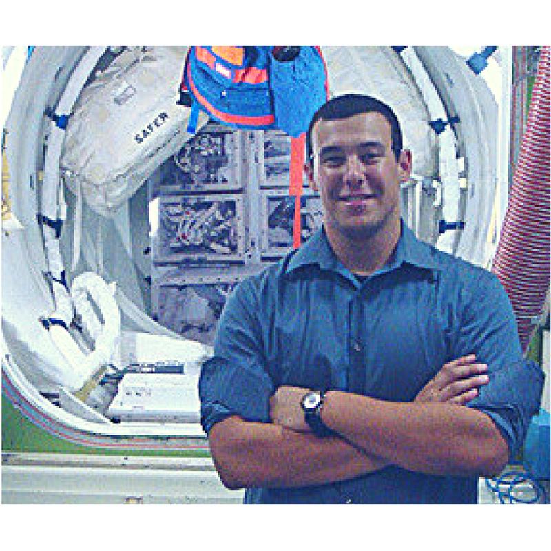 Ernesto Prado at Johnson Space Center