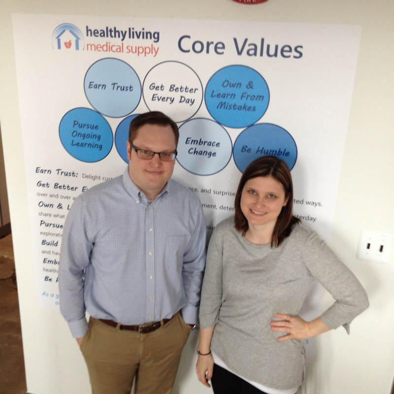 The Healthy Living Insulin Pump Therapy Team: George and Crystal collectively have 24 years of experience serving people with diabetes.