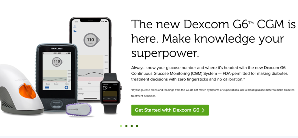 Dexcom's new G6 Continuous Glucose Monitoring System