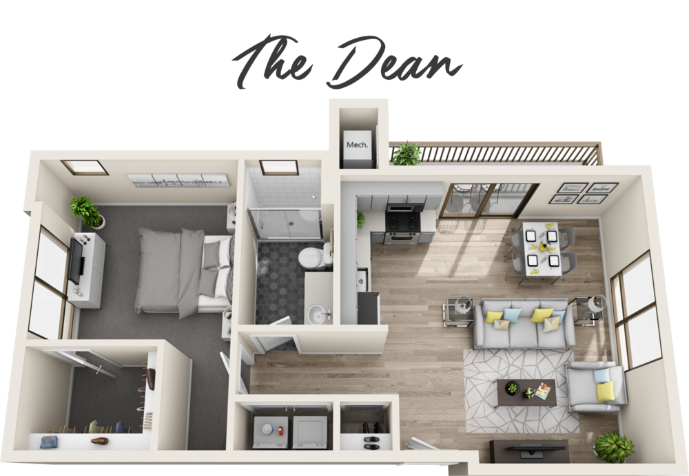 1 Bedroom | 1 Bathroom | Starting from $1,859