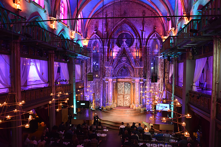 ARTHOUSE.NYC  is all about color and if our past event at the  Angel Orensanz Foundation  is any indication, then our holiday season is guaranteed to be a kaleidoscope of light and cheer. We produced the recent   Charles and Lynn Schusterman  and  ROI Community's  Reality on The Road on the LES. Orensanz, the Instagram of the brick and mortar, makes all events within their walls breathtaking and beautiful. Our team provided flawless staffing, catering, AV and decor services. Photos:  John Mazlish